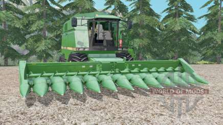 John Deere 2056 medium sea green для Farming Simulator 2015