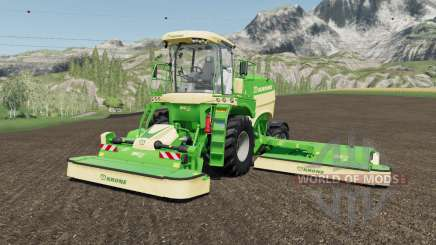 Krone BiG M 450 more horsepower для Farming Simulator 2017