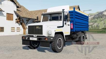 ГАЗ-САЗ-35071 с полуприцепом для Farming Simulator 2017