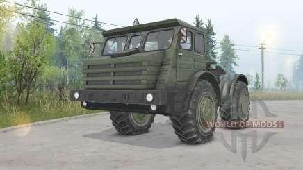 МоАЗ-74111 4x4 для Spin Tires