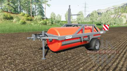 Duvelsdorf Green Roller Vario colour choice для Farming Simulator 2017