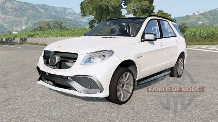 Mercedes-AMG GLE 63 S (W166) 2015 для BeamNG Drive