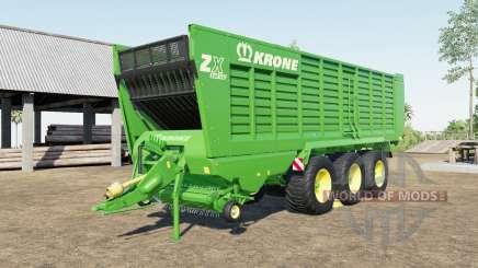 Krone ZX 560 GD capacity 100.000 liters для Farming Simulator 2017
