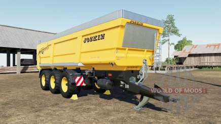 Joskin Trans-Space 8000-27 TRC150 color choice для Farming Simulator 2017