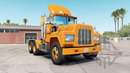 Mack R-series safety orange для American Truck Simulator