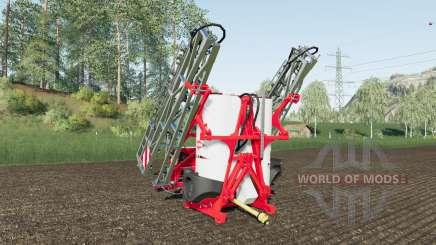 Kuhn Deltis 1302 MTA3 work speed 17 km-h для Farming Simulator 2017