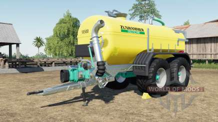 Zunhammer SKE 18.5 PUD with more tire configs для Farming Simulator 2017
