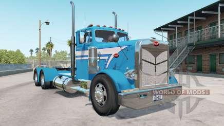 Peterbilt 351 bondi blue для American Truck Simulator