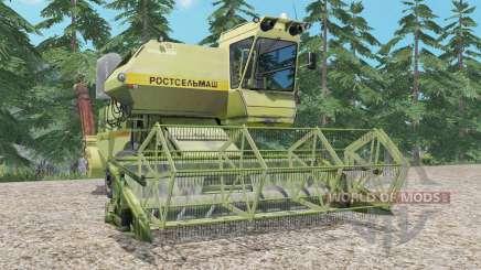 СК-5 Нива ненасыщенно-зеленый для Farming Simulator 2015