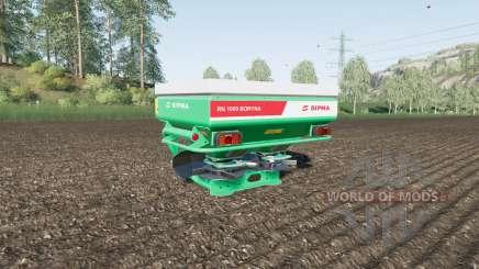 Sipma RN 1000 Boryna для Farming Simulator 2017