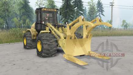 New Holland W170C v1.2 для Spin Tires