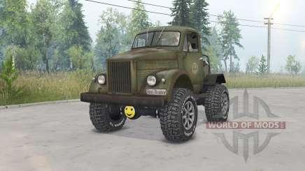 ГАЗ-63 Газозавр для Spin Tires