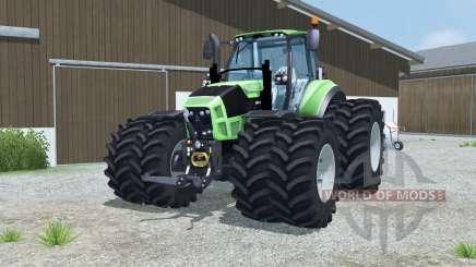 Deutz-Fahr 7250 TTV Agrotron dual wheels для Farming Simulator 2013