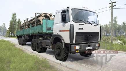 МАЗ-64229 6x6 для MudRunner
