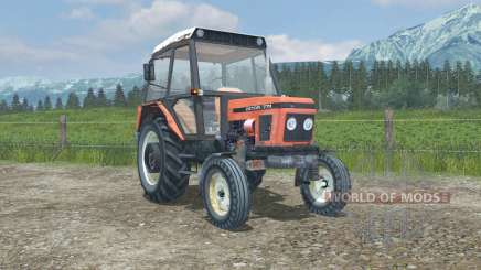 Zetor 7711 MoreRealistic для Farming Simulator 2013