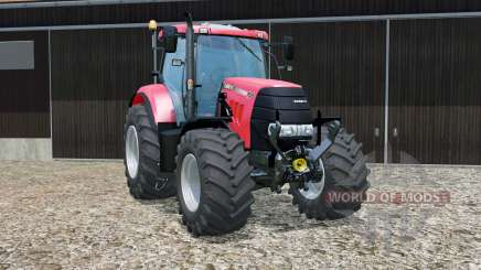 Case IH Puma 160 CVX with FL console для Farming Simulator 2015