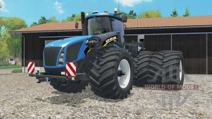New Holland T9.565 dual rear wheels для Farming Simulator 2015