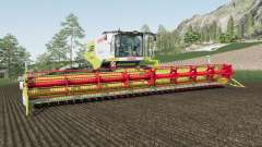 Claas Lexion 780 design selection для Farming Simulator 2017