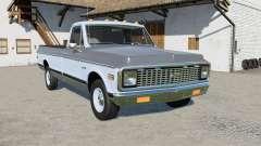 Chevrolet C10 Cheyenne Fleetside 1971 для Farming Simulator 2017