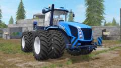 New Holland T9 multicolor with drilling tires для Farming Simulator 2017