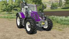 Fendt 700 Vario new light effects для Farming Simulator 2017