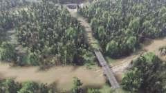 Затопленная территория для Spin Tires