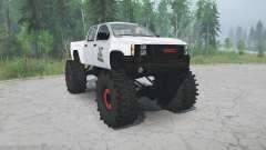 GMC Sierra lifted для MudRunner