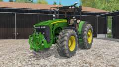 John Deere 8530 animated steering для Farming Simulator 2015