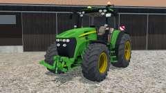 John Deere 7930 hand animation для Farming Simulator 2015