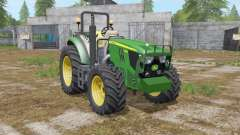 John Deere 5085M & H240 для Farming Simulator 2017