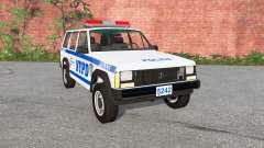 Jeep Cherokee (XJ) Police для BeamNG Drive