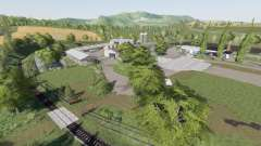 Thuringer Oberland v1.3 для Farming Simulator 2017
