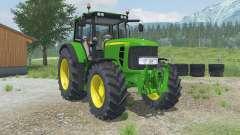 John Deere 6830 Premium adjustable tow hitch для Farming Simulator 2013