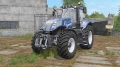 New Holland T8-series with additional light для Farming Simulator 2017