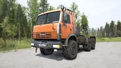 КамАЗ-44108 ярко-оранжевый для MudRunner