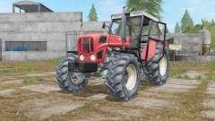 Ursus 1614 sunset orange для Farming Simulator 2017