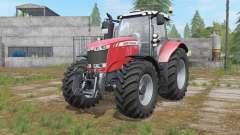 Massey Ferguson 7700 interactive control для Farming Simulator 2017