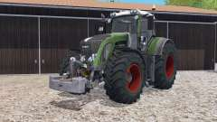 Fendt 933 Vario with weight для Farming Simulator 2015