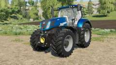 New Holland T7-series Heavy Duty Blue Power для Farming Simulator 2017