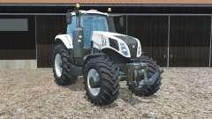 New Holland T8.435 alabaster для Farming Simulator 2015