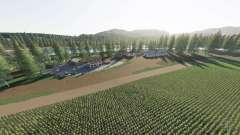 Agrar Halbinsel v1.4 для Farming Simulator 2017