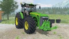 John Deere 8530 dynamic animations of smoke для Farming Simulator 2013