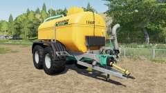 Zunhammer SKE 15.5 PU mudguards choice для Farming Simulator 2017