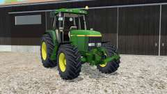 John Deere 6810 pantone green для Farming Simulator 2015
