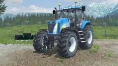 New Holland T8020 realistic exhaust для Farming Simulator 2013