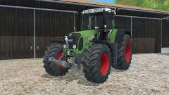 Fendt 820 Vario TMS dynamic exhausting system для Farming Simulator 2015