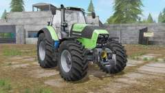 Deutz-Fahr Serie 7 TTV custom exhaust effect для Farming Simulator 2017