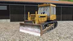 ДТ-75МЛ с бульдозерным отвалом для Farming Simulator 2015