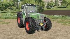 Fendt Favorit 500 C extra tire configurations для Farming Simulator 2017
