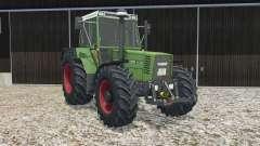 Fendt Favorit 615 LSA Turbomatik E real lights для Farming Simulator 2015